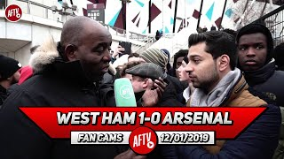 West Ham 1-0 Arsenal | Emery Doesn't Rate Ozil So We Need To Sell Him In The Summer! (Afzal)
