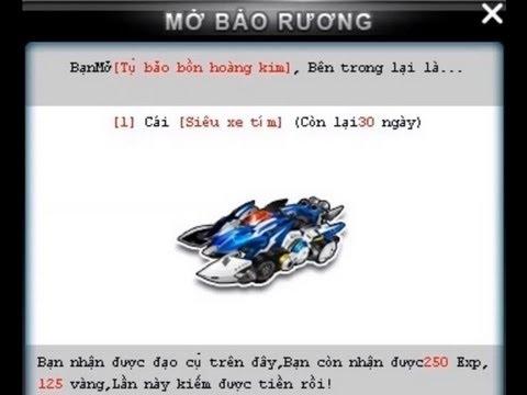 """Zing Speed Săn Xe S """"Siêu Xe Tím"""" Tụ Bảo Bồn Hoàng Kim"""