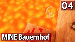 MINE Bauernhof #4 ► LAVA ENDE ► Lets Play Minecraft Life In The Woods