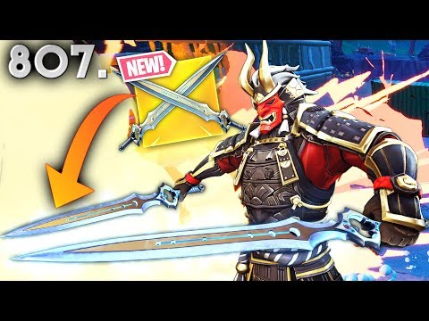 *NEW* INFINITY BLADE IS BROKEN! - Fortnite Funny WTF Fails and Daily Best Moments Ep. 807