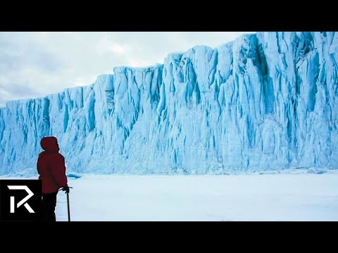 What's Really Behind The Ice Wall In Antartica