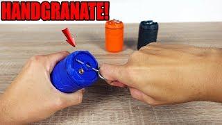 Meine ERSTE AIRSOFT HANDGRANATE! - E-RAZ Compact Granate im TEST!