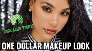ONE DOLLAR MAKEUP SLAY | DOLLAR TREE MAKEUP CHALLENGE by : ItsMyRayeRaye