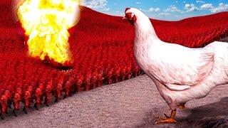 BOMBA NUCLEAR vs 200,000 COSAS | Simulador de Batallas Épicas