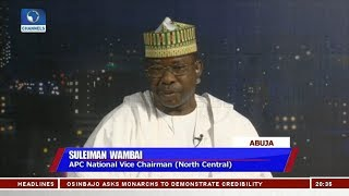 Automatic Ticket Does Not Exist In APC  - Suleiman Wambai | Sunday Politics |