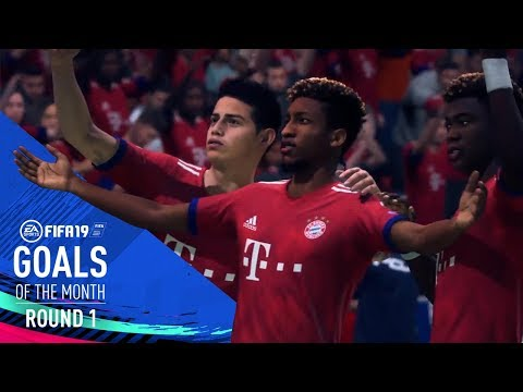 FIFA 19 | Goals of the Month | Round 1