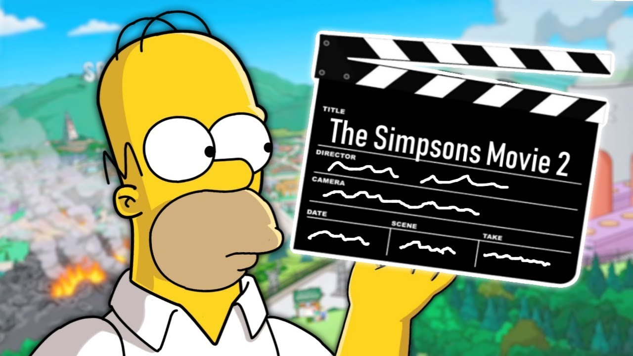 The Simpsons Movie 2 In Development At Fox Orlando City Guide