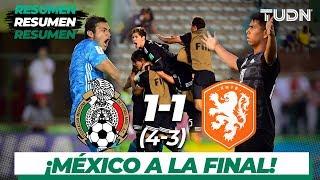 Resumen y Goles | México 1(4) - (3) 1 Holanda | Mundial Brasil Sub-17 - Semifinal| TUDN