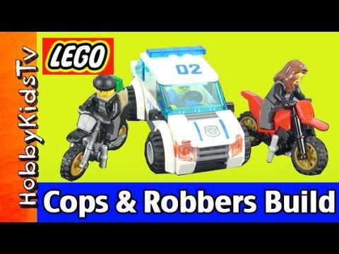 LEGO City Police 60042 High Speed Toy Car Fun Build by HobbyKidsTV ...