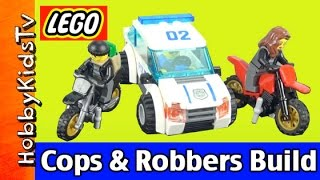 LEGO City Police 60042 High Speed Police Chase Build HobbyKidsTV