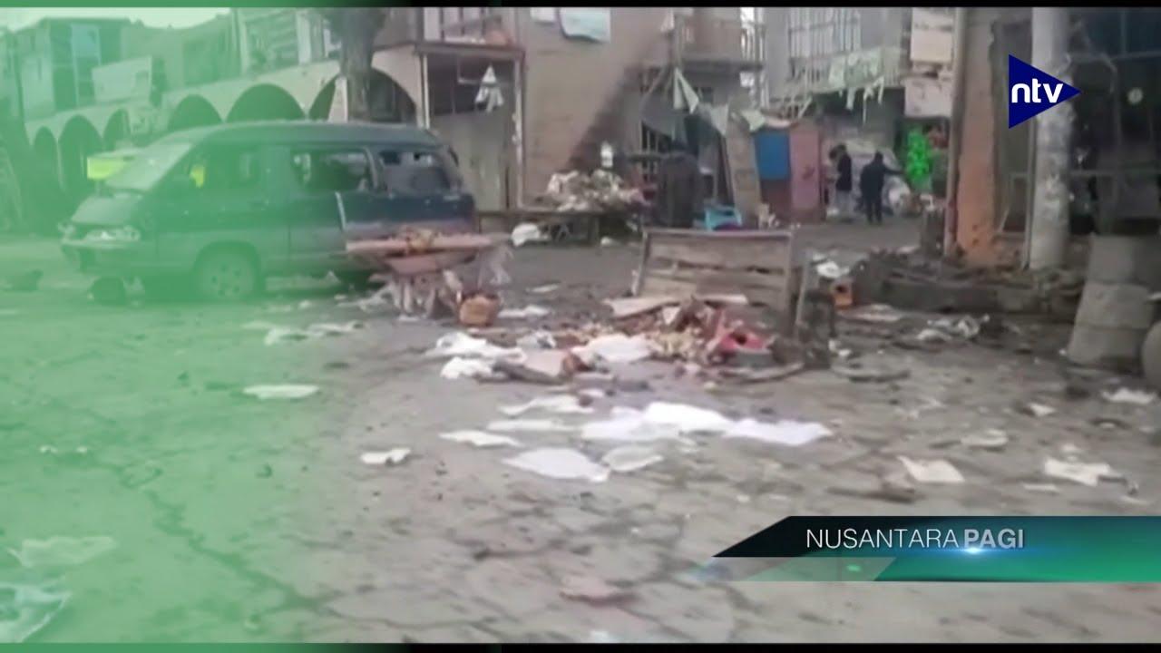 Serangan Bom Kembar di Afganistan, 14 Orang Tewas