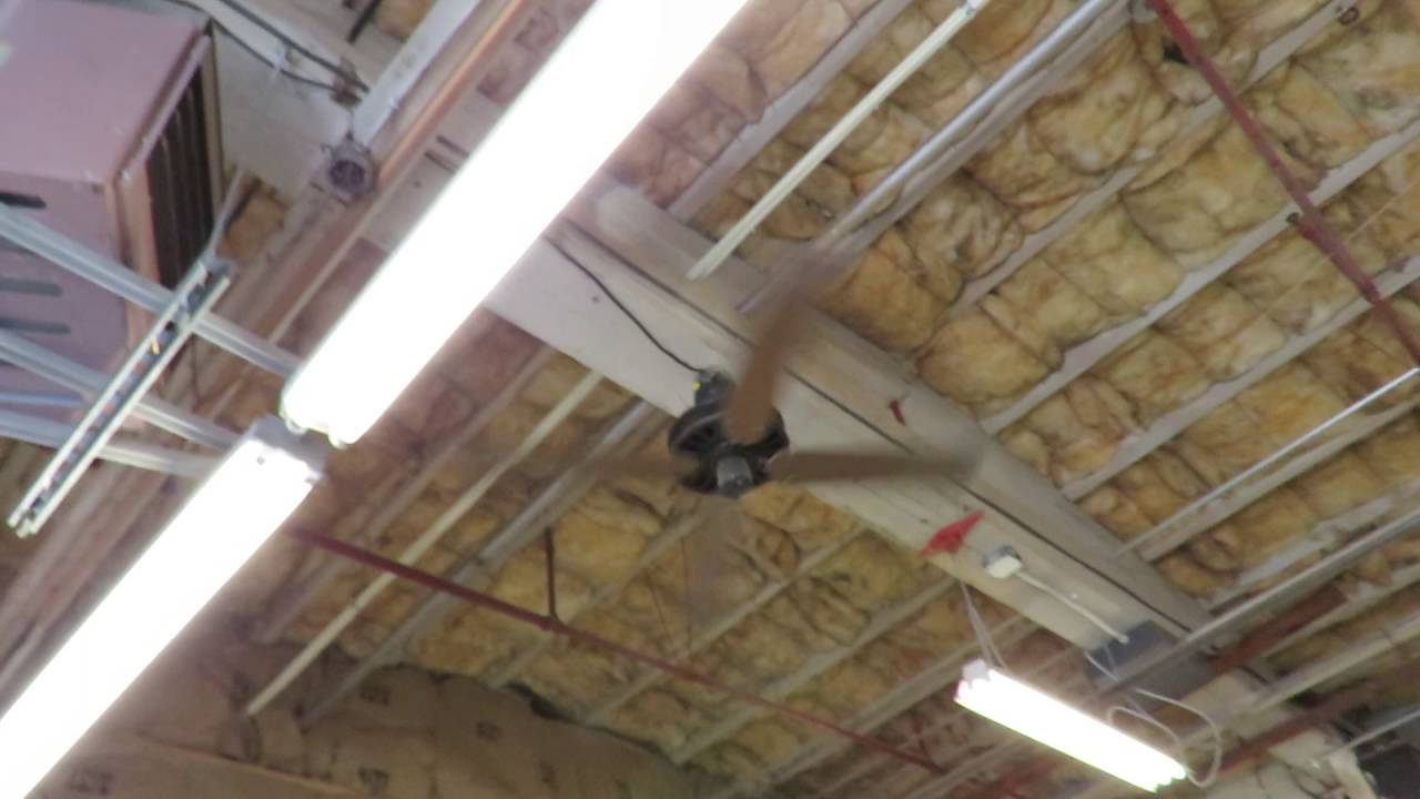 sears roebuck emerson 52 k55 plastic ceiling fan youtube. Black Bedroom Furniture Sets. Home Design Ideas
