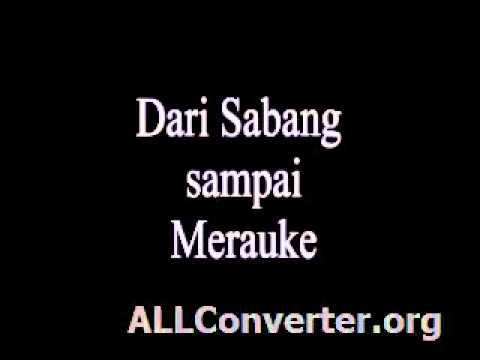 Dari Sabang smpai Merauke (sdn2jatisaba.blogspot.com)