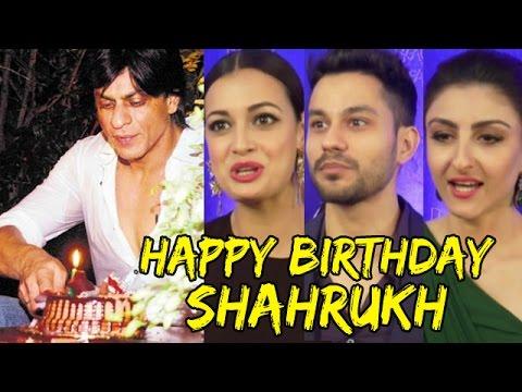 Shahrukh Khan's 50th Birthday | Bollywood Celebs Wishes Mp3