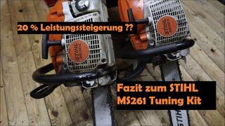 Fazit zur STIHL MS 261 mit 20% Leistungssteigerung - Tuning Kit | Baumpflege Mertens