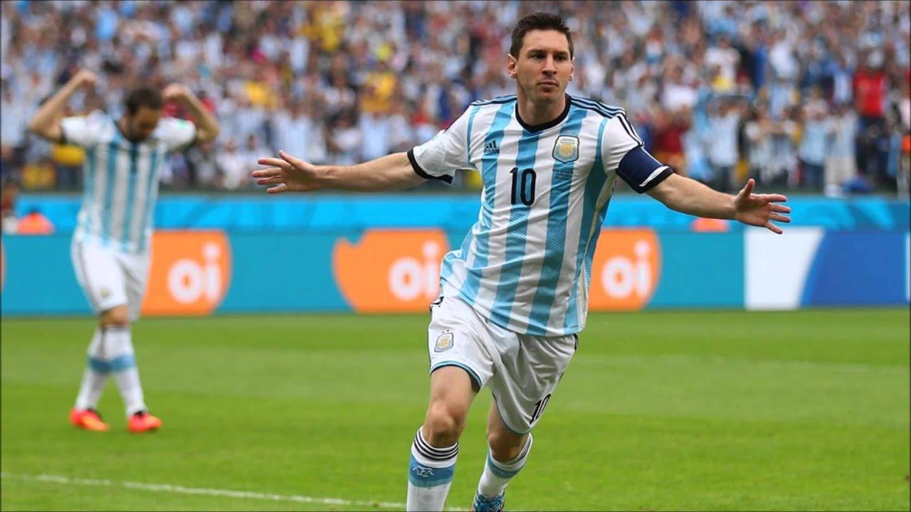 Lionel MESSI First Goal I Nigeria 0