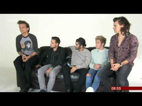 One Direction BBC Breakfast 2014