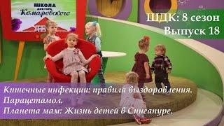 ШДК: Кишечные инфекции (правила выздоровления). Парацетамол - Доктор Комаровский