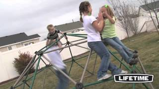 Lifetime 90136 Earthtone Dome Climber - Epic Swingsets Review