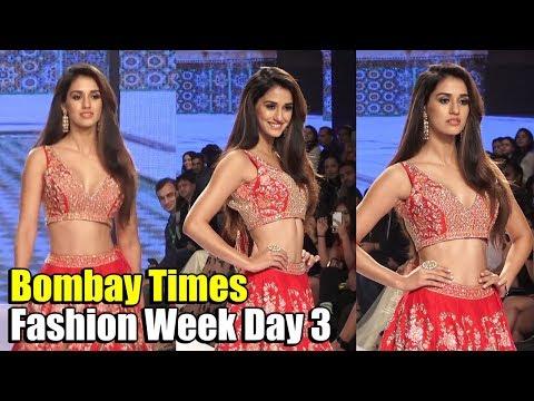 Disha Patani LOOKS STUNNING on the Ramp at Bombay Times Fashion Week Day 3