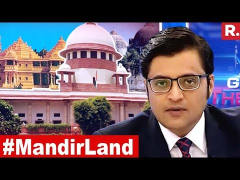 After Govt's Mandir Land Petition In SC, Can Construction Begin Soon?| The Debate With Arnab Goswami