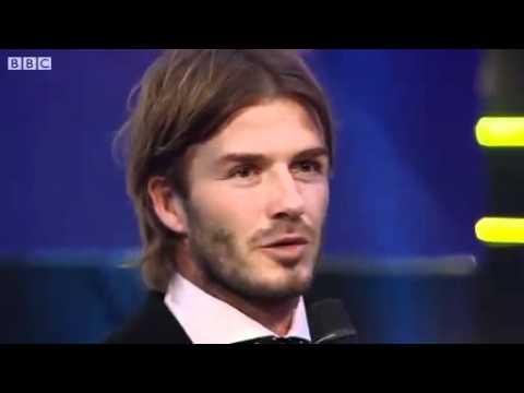 David Beckham wins BBC Lifetime Achievement Award