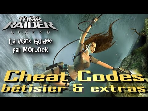 Tomb Raider Legend Cheat Codes Betisier Extras Youtube