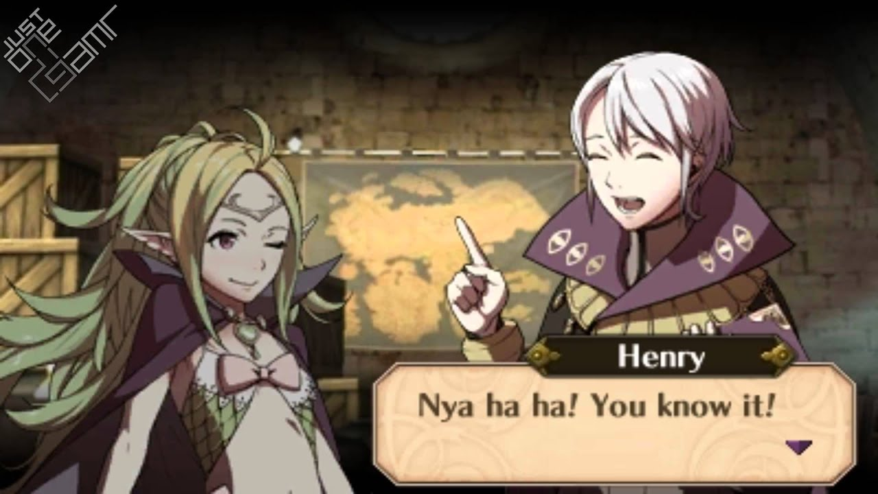 Fire Emblem Awakening - Henry & Nowi Support Conversations ...Fire Emblem Awakening Henry Eyes