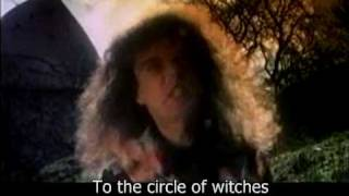 Grave Digger - Circle Of Witches (Lyrics)