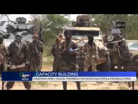June 2017: Coverage of capacity-building workshop by Lagos Television