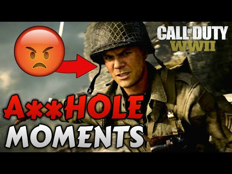Call of Duty: WWII - Top 5 Sgt. Pierson A**HOLE Moments (CoD: WWII Campaign)