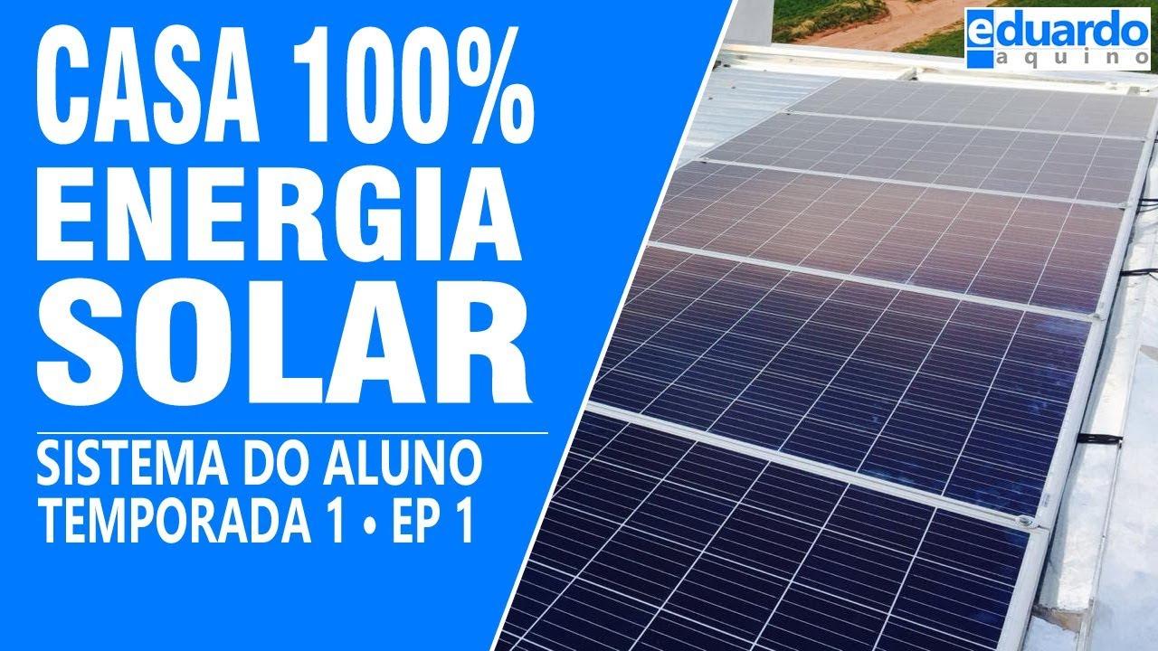 CASA COM ENERGIA SOLAR 100% OFFGRID ALUNO YAGO & JULIANO T7 #191