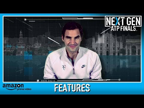 Federer Helps Introduce Next Gen ATP Finals