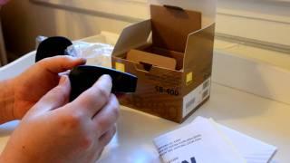 Unboxing Nikon SB-400 Speed light