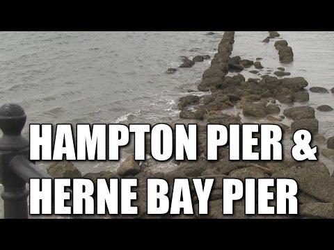 Hampton Pier & Herne Bay Pier in Kent - British sea fishing marks