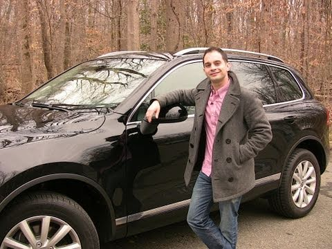 RoadflyTV - 2011 VW Touareg VR6 Sport Review & Test Drive