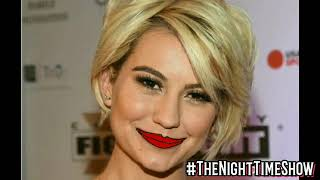 "When @ChelseaKane got the ""Full Robbie Experiance"" #TheNightTimeShow RATED - R"