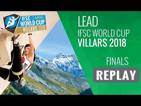 IFSC Climbing World Cup Villars 2018