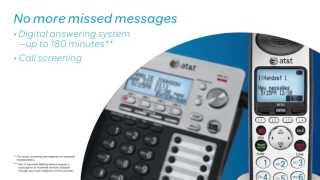 AT&T SynJ® Cordless Business Phone System