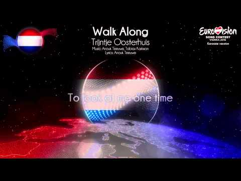 "Trijntje Oosterhuis - ""Walk Along"" (The Netherlands) - [Karaoke version]"