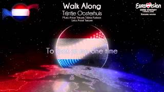 """Trijntje Oosterhuis - """"Walk Along"""" (The Netherlands) - [Karaoke version]"""
