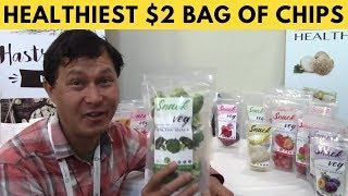 Healthiest $2 Bag of Chips & More from Expo East 2018