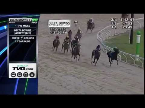 RACE REPLAY: 2015 Delta Downs Jackpot