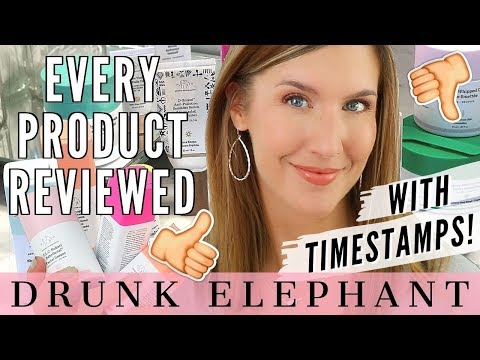 Drunk Elephant Skin Care | FULL BRAND Review | Hits, Misses & Must Haves! thumbnail