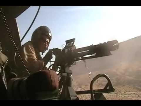 USMC Door Gunner, Afghanistan