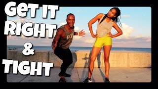 Full Body Cardio Circuit Training | Get it Right and Get it Tight F...