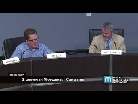 08/03/17 Stormwater Management Committee