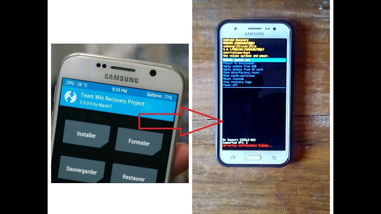 How To Remove Twrp And Revert To Original Recovery (Samsung) (Root Needed)
