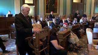 Highlights of the 25th Annual Michigan Senate Memorial Day Service