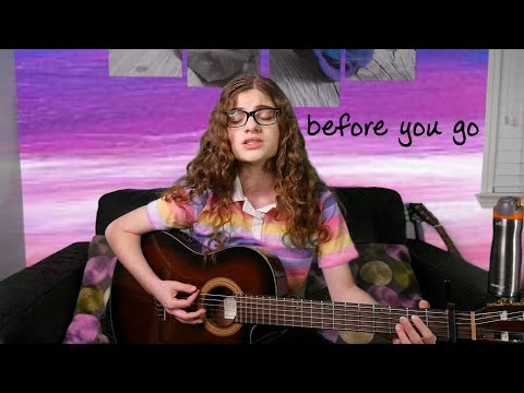 Before You Go - Lewis Capaldi (acoustic cover)